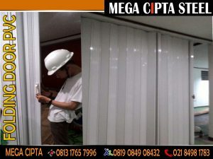FOLDING GATE PVC PEKAYON JAYA ROLLING DOOR AREN JAYA